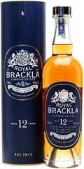 Виски Royal Brackla 12 Years Old, in tube, 0.7 л