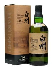 Виски Suntory Hakushu 18 years, gift box, 0.7 л