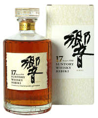 Виски Suntory Hibiki 17 years, gift box, 0.7 л