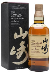 Виски Suntory Yamazaki 12 years, gift box, 0.7 л