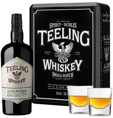 Виски Teeling Irish Whiskey Gift Set With 2 Glasses, 0.7 л