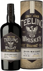 Виски Teeling Single Malt Irish Whiskey In Tube, 0.7 л