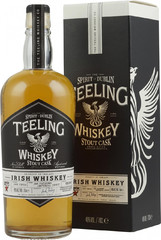 Виски Teeling Stout Cask Irish Whiskey Gift Box, 0.7 л