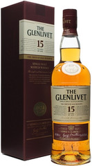 Виски The Glenlivet 15 years, with box, 0.7 л