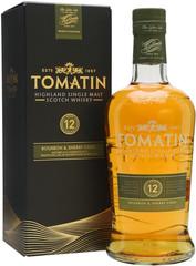Виски Tomatin 12 Years Old Gift Box, 0.7 л
