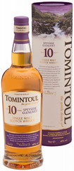Виски Tomintoul 10 Years Old, in tube, 0.7 л