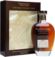 Виски Tomintoul 38 Year Old, 1977, gift box, 0.7 л