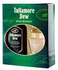 Виски Tullamore Dew, gift box with 2 glasses, 0.7 л