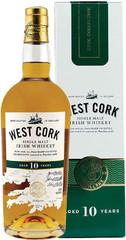Виски West Cork 10 Years, 0.7 л