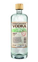 Водка Koskenkorva Vodka Lemon Lime Yarrow, 0,7 л.