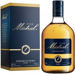 Водка Pisco Mistral Especial, gift box, 0.75 л