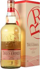 Водка Pisco Tres Erres Reservado, gift box, 0.7 л