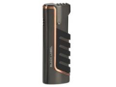 Зажигалка Black Label LBL 10020 Rebel Dark Gun Satin With Copper Line