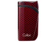 Зажигалка сигарная Colibri Falcon красный карбон LI310T7