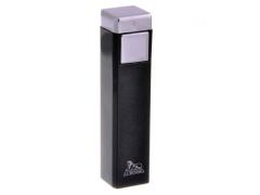 Зажигалка Lubinski Бергамо Черный Металлик WС562-3