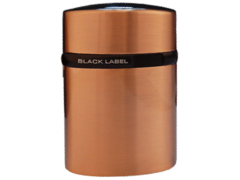 Зажигалка настольная Black Label Tornado LBLT 320 Brushed Copper & Black