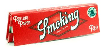 Бумага для самокруток Smoking Red вид 1