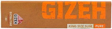 Бумага для самокруток Gizeh Pure Extra Fine King Size 33 вид 1