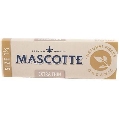Бумага для самокруток Mascotte Extra Thin Organic Size 1 1/4 вид 1