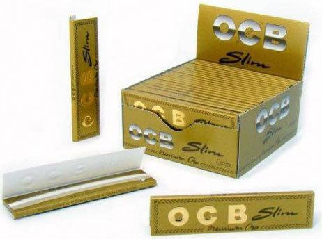 Бумага для самокруток OCB Slim Premium Oro вид 1