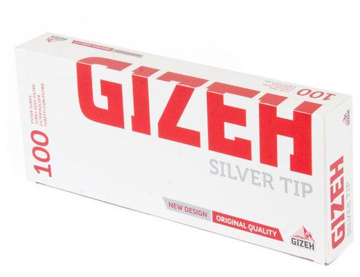 Гильзы для самокруток Gizeh Silver Tip 100 шт вид 2