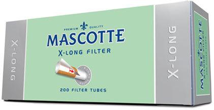 Гильзы для самокруток Mascotte X-long 200 шт вид 1
