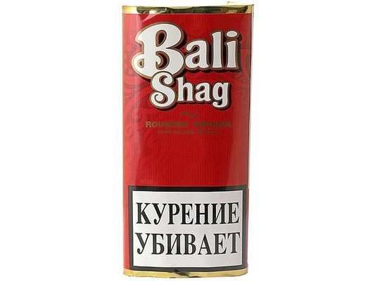 Сигаретный табак Bali Shag Rounded Virginia вид 1