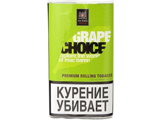 Сигаретный Табак Mac Baren Grape Choice вид 1