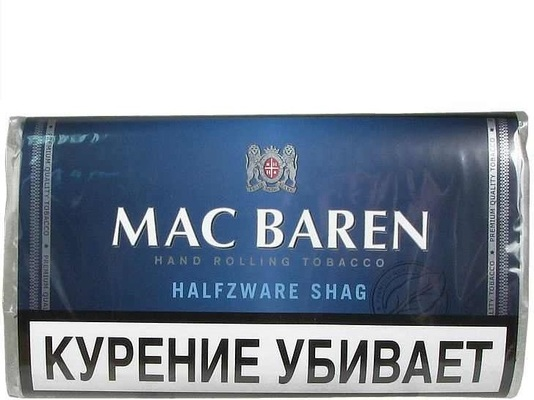 Сигаретный Табак Mac Baren Halfzware Shag вид 1