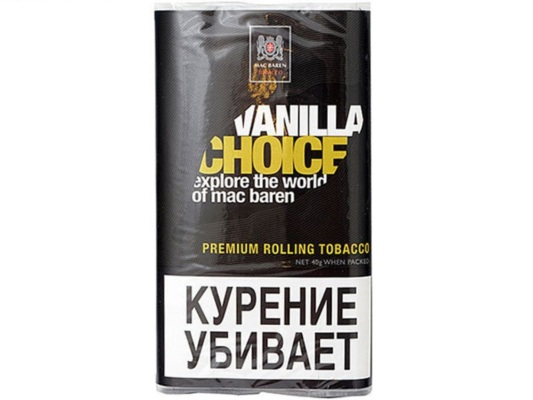 Сигаретный Табак Mac Baren Vanilla Choice вид 1