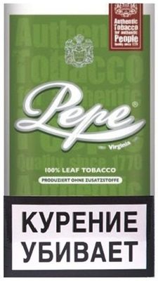 Сигаретный табак Pepe Rich Green вид 1