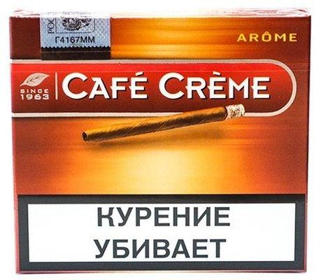 Сигариллы Cafe Creme Arome вид 1