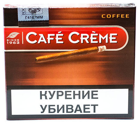 Сигариллы Cafe Creme Coffee вид 1