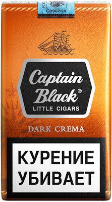 Сигариллы Captain Black Dark Crema вид 1