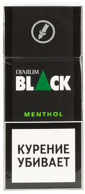 Сигариллы Djarum Black Menthol вид 1