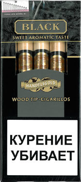 Сигариллы Handelsgold Black Wood Tip вид 1
