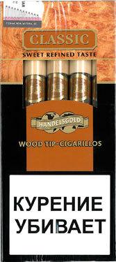 Сигариллы Handelsgold Classic Wood Tip вид 1