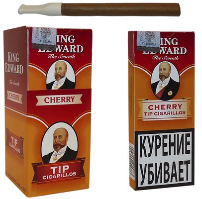 Сигариллы King Edward Cherry Tip вид 1