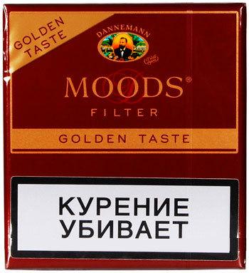Сигариллы Moods Filter Golden Taste 10 вид 1