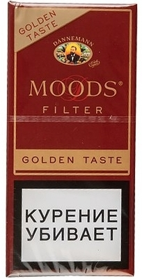 Сигариллы Moods Filter Golden Taste 5 вид 1