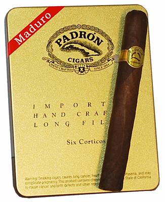 Сигариллы Padron Cortico Maduro вид 1