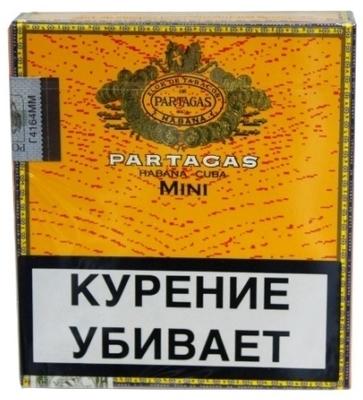 Сигариллы Partagas Mini вид 1