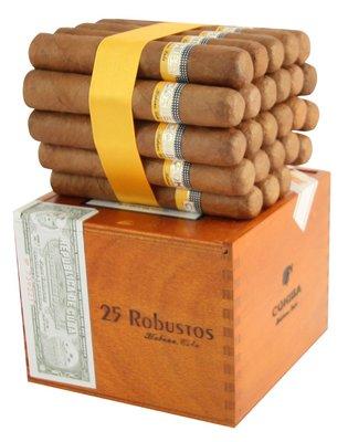 Сигары  Cohiba Robustos вид 1