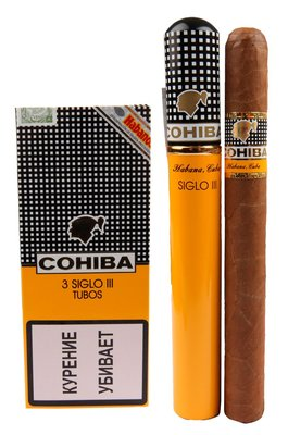 Сигары  Cohiba Siglo III Tubos вид 1