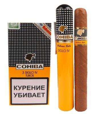 Сигары  Cohiba Siglo IV Tubos вид 1