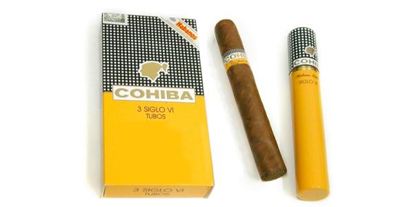 Сигары  Cohiba Siglo VI Tubos вид 1