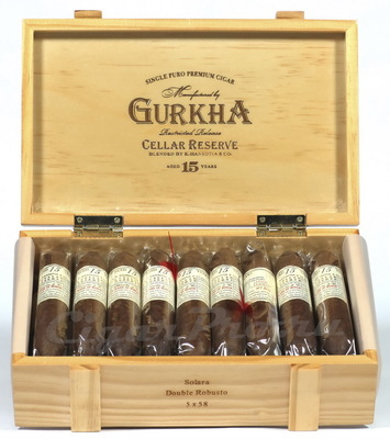 Сигары Gurkha Cellar Reserve Aged 15 Years Double Robusto вид 1