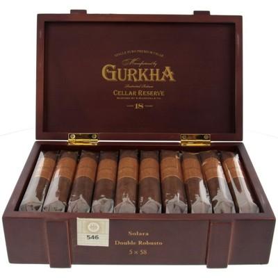 Сигары Gurkha Cellar Reserve Aged 18 years Double Robusto вид 1