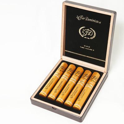 Сигары  La Flor Dominicana Oro No. 6 Maduro Tubos вид 1