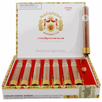 Сигары Macanudo Cafe Crystal вид 1